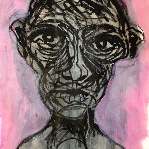Self-Portrait at 87, Summer 2020