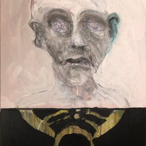 Self-Portrait in Pink, 2020. Ira Wright