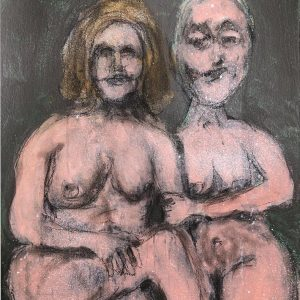 An Undressed Couple, 2020. Ira Wright